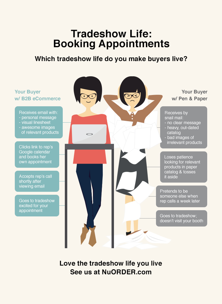 Book More Appointments at Tradeshows